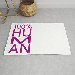 100% HUMAN Rug