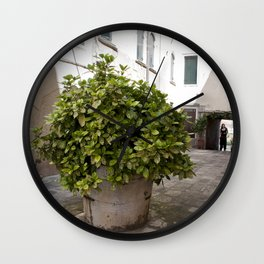 Inne yard Wall Clock