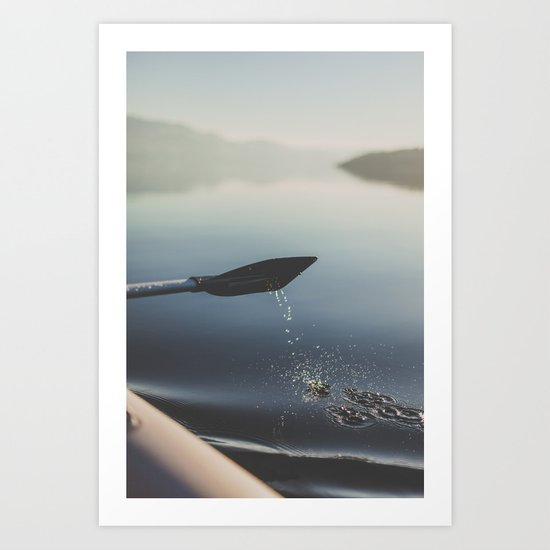 Float Art Print
