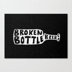 Broken Bottle Beer Co Canvas Print