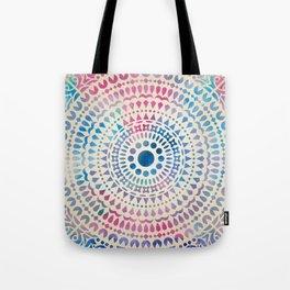 mandala10 Watercolor Mandala Tote Bag