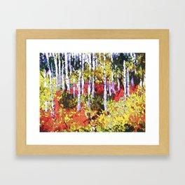 Title: Glorious Colors - digital Silk Screen Framed Art Print