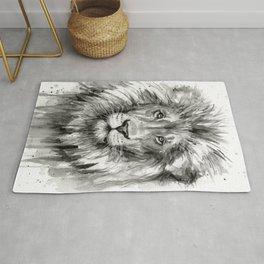 Lion Watercolor Rug