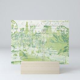 springtime in Paris Mini Art Print
