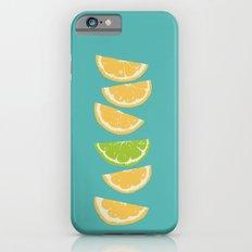 Citrus Tip - Turquoise iPhone 6s Slim Case