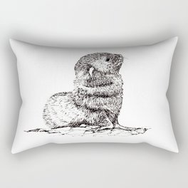Baby Seal Rectangular Pillow