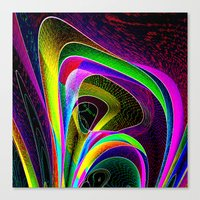 magneto Canvas Prints featuring magneto-dynamic by David  Gough