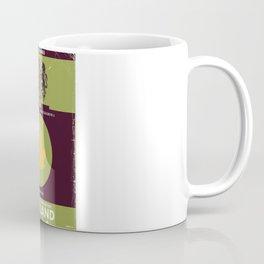 England vintage style map poster. Coffee Mug