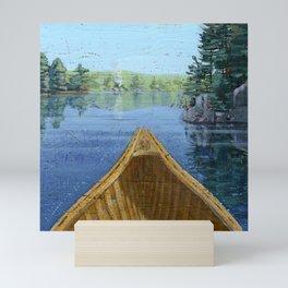 canoe bow Mini Art Print