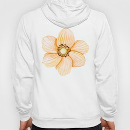 One Orange Flower Hoody