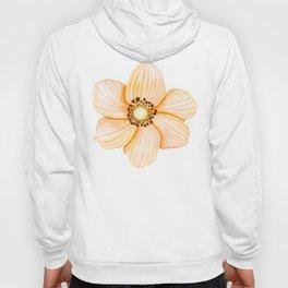 One Orange Flower Hoody