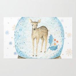 Christmas deer #2 Rug
