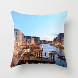Canals | Venice, Italy Throw Pillow