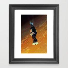 Cassini on Centaur Framed Art Print