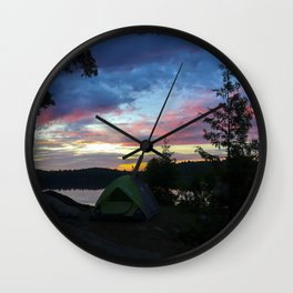 Let Us Sleep Among the Stars - Algonquin Provincial Park Wall Clock