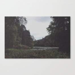 Lake of the dryads Canvas Print