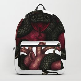 Black Heart Backpack