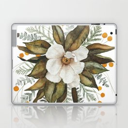 Magnolia Bouquet Laptop & iPad Skin
