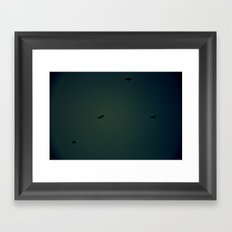 Watchers Framed Art Print