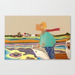 Am Rhein Canvas Print