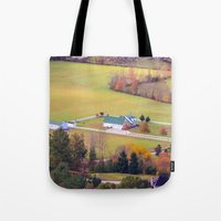 tennessee Tote Bags featuring Tennessee Country by Mary Timman