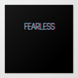 Fearless   Digital Art Canvas Print