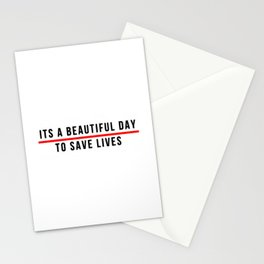 Save Lifes Stationery Cards