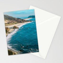 California Coastline Dreaming Stationery Cards