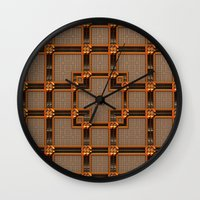 classy Wall Clocks featuring Classy by Lyle Hatch