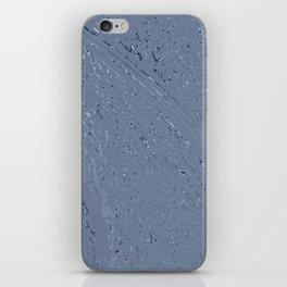 Blue Grey Rainy Windshield Ambience iPhone Skin