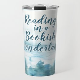 Bookish Wonderland Travel Mug