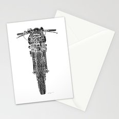 Vintage Italian 860 GTS Motorcycle Stationery Cards