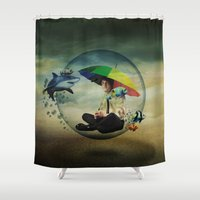 wizard Shower Curtains featuring Wizard by Tony Vazquez