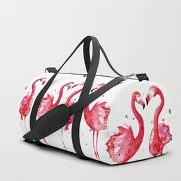 Pink Flamingos Duffle Bag