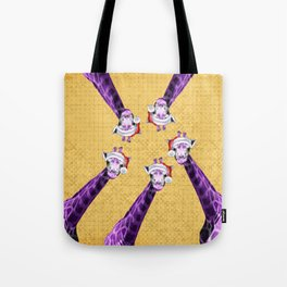 Tis The Season - Giraffe Tote Bag