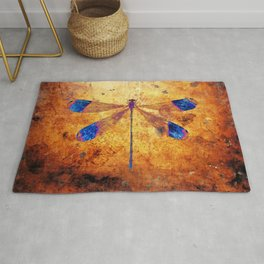 Dragonfly in Amber Rug