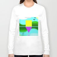 illusion Long Sleeve T-shirts featuring Illusion by Cs025