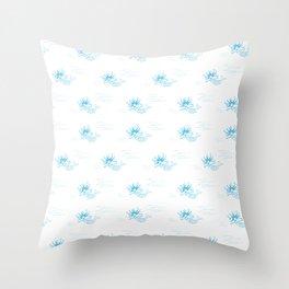 moana marmaid - new zealand sea collection Throw Pillow