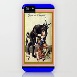 KRAMPUS 1 iPhone Case