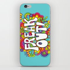 Freak Out! iPhone & iPod Skin