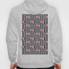 stripes and elephants Hoody