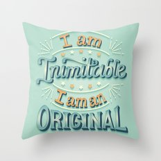 I am an original Throw Pillow