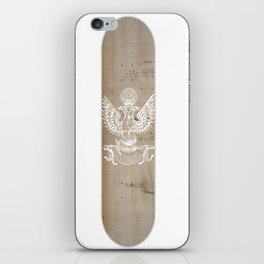 Wood Eagle iPhone Skin
