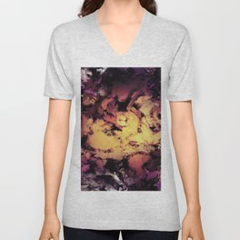 A repeated immersion Unisex V-Neck