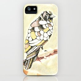 Canary in a Cathouse iPhone Case