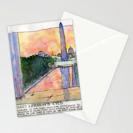 Through Lincoln's Eyes, Washington DC Stationery Cards