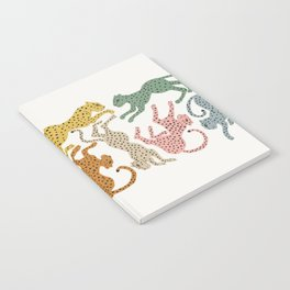 Rainbow Cheetah Notebook