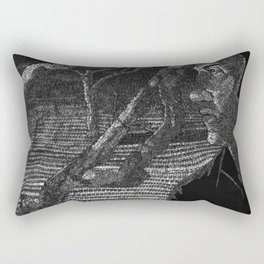 In Your Absence Rectangular Pillow