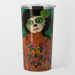 The three Catrinas Travel Mug