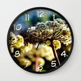 Heracleum in August Wall Clock